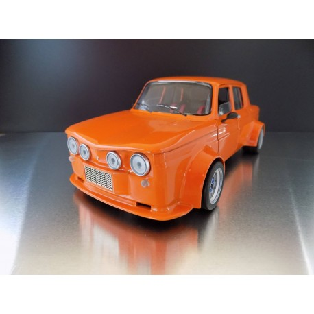 Transkit Renault 8 proto base Solido 1/18ème