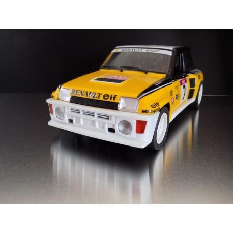 Pare-Choc Renault 5 Turbo Tour de Corse 1/18ème