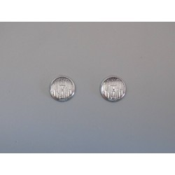 2 pastilles de phares diamètre 6mm