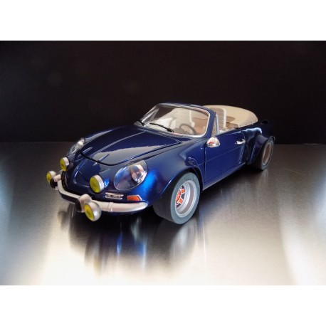 transkit alpine a110 cabriolet hoffmann base bburago 1 16 me mfcreationminiatures. Black Bedroom Furniture Sets. Home Design Ideas